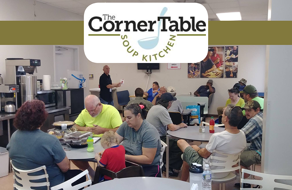 Serving at The Corner Table