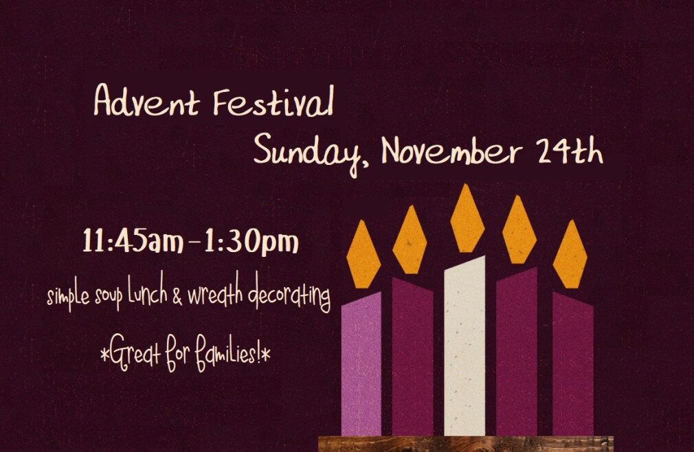 Advent Festival & Lunch